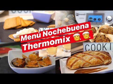 MENU de NOCHEBUENA con THERMOMIX