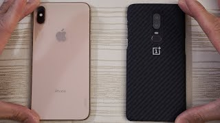 iPhone XS Max vs OnePlus 6 - Speed Test! Which is BEAST?!