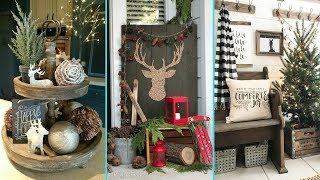 ❤ DIY Shabby Chic Style Rustic Christmas Decor Ideas ❤| Home Decor & Interior Design|Flamingo Mango|