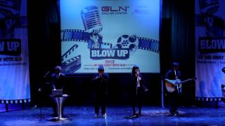 Too Close- Alex Clare (Skylark cover) live in Blow Up 2012 Competition Final round