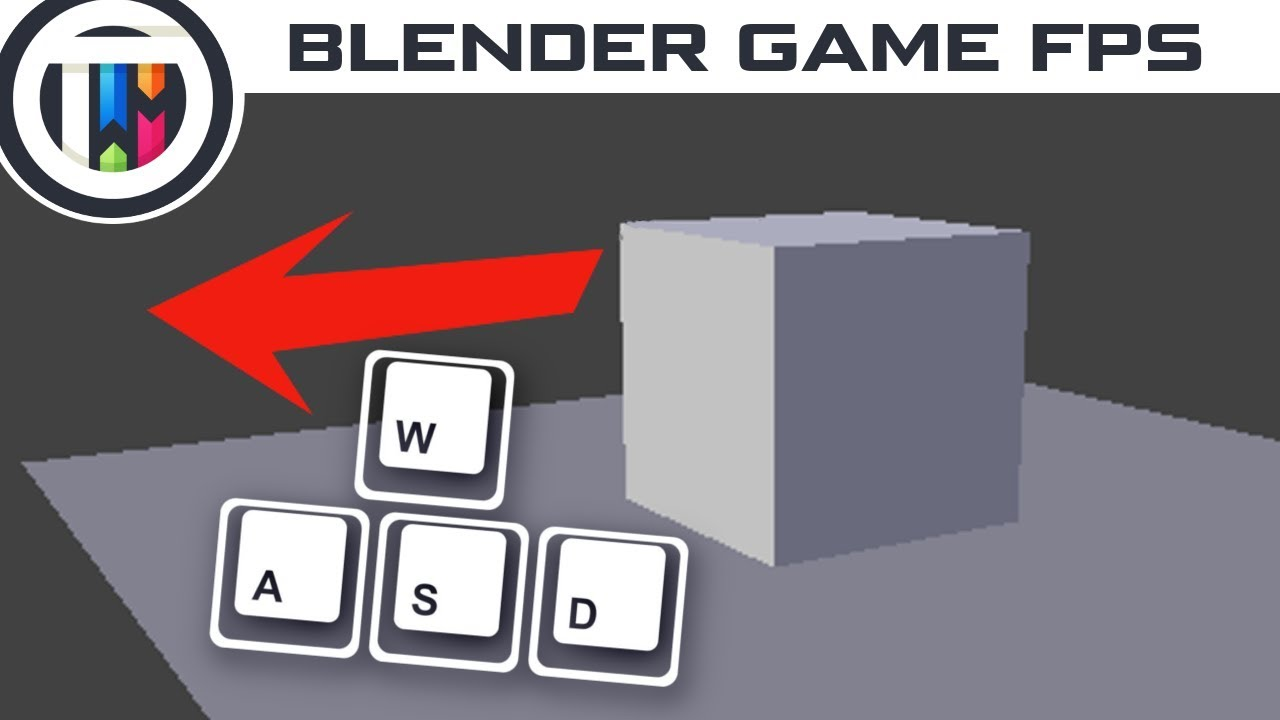 Blender Game Engine Tutorial - Character Movement (No Python)