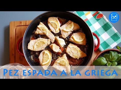 PEZ ESPADA a la GRIEGA | Cocina al día - Receta #2