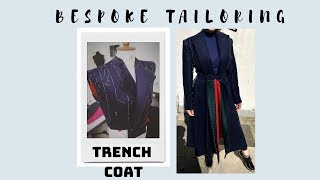 HOW TO MAKE A COUTURE TRENCH COAT - Part 1