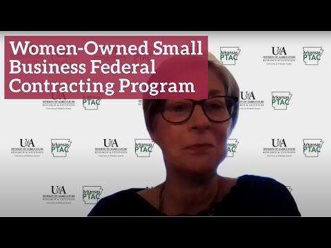 Women-Owned Small Business Federal Contracting Program ...