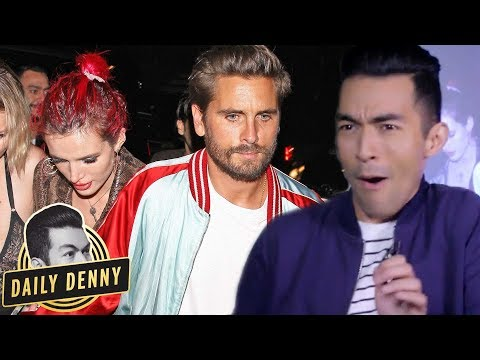 Scott Disick and Bella Thorne Hold Hands After Lana Del Rey's Birthday Party | Daily Denny