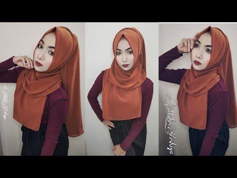 My Everyday Hijab Tutorial With chiffon Hijab  Most Requested Hijab Tutorial 2019  Mahi ❤