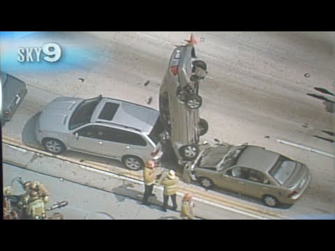 THE MOST INSANE CAR CRASHES EVER! (FLYING CARS)