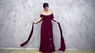 Twenty3 Tutorial | 10 Ways To Wear The Convertible Dress