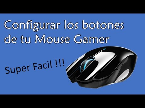 Configurar los botones de tu Mouse Gamer - Super Facil!!!  2016