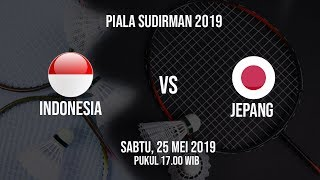 Live Streaming Semifinal Piala Sudirman 2019, Indonesia Vs Jepang, Sabtu (25/5) Pukul 17.00 WIB