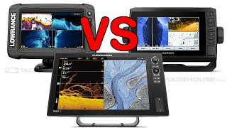 Humminbird vs Lowrance vs Garmin : Sonar Marine Electronics