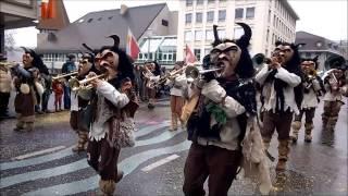 preview picture of video '2014 Rhüthmushüpfer am Fasnachtsumzug Thun'