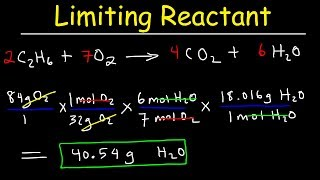 Limiting Reactant Practice Problems