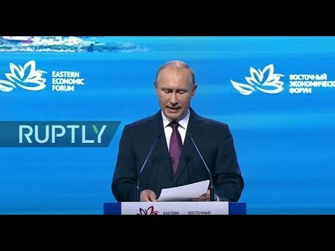 LIVE: Putin takes part in plenary session during Eastern Economic Forum