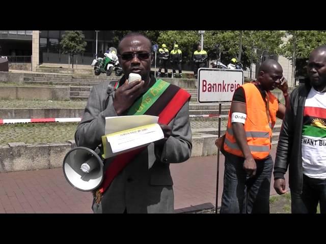 Biafrans in Germany/Düsseldorf Nr.5