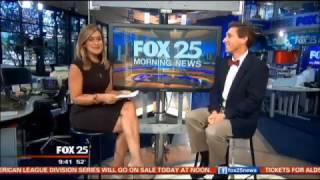 Dr. Chris Thurber on Fox 25 Boston