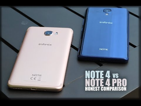 Infinix Note 4 vs Note 4 Pro - Honest Comparison