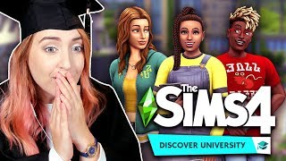 A Master's Graduate Reacts to The Sims 4: Discover University