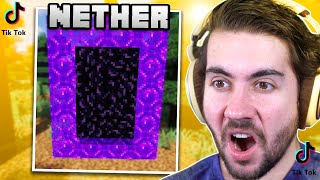 I Tested Viral TikTok Nether Hacks To See If They Work
