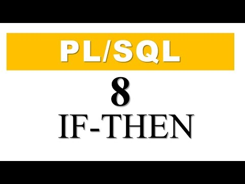 PL/SQL tutorial 8: Simple IF -THEN conditional Control Statement By Manish Sharma RebellionRider