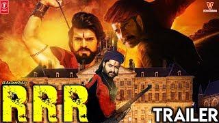 RRR Trailer | Ram Charan | NTR | Alia Bhatt | Ajay Devgn | Olivia Morris | SS Rajamouli