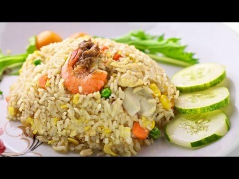 Video How To Make Salted Fish Fried Rice | Cara Membuat Nasi Goreng Ikan Asin
