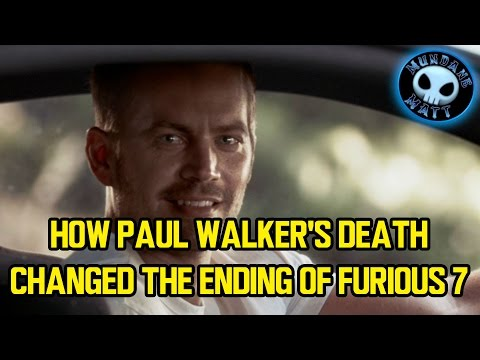 How Paul Walker's death changed the ending of FURIOUS 7