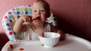 Смотреть онлайн Пример блюд для годовалого ребенка