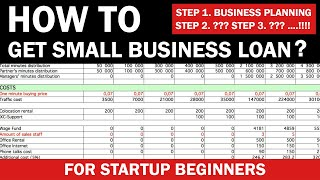 How to Get Small Business Loan for Startup