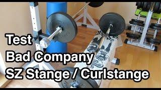 Test Bad Company SZ-Hantelstange | Curl Stange | Curlstange | Curlhantelstange Test