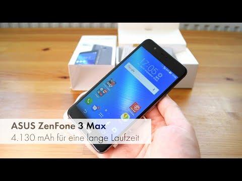 ASUS ZenFone 3 Max - Mittelklasse-Smartphone mit großem Akku im Test