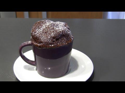 Torta in tazza al microonde - Mug cake - dolci facili e veloci