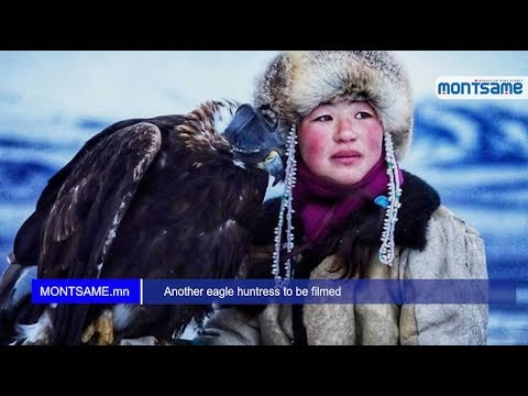 Another eagle huntress to be filmed