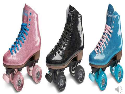 Sure Grip Stardust Glitter roller skates review