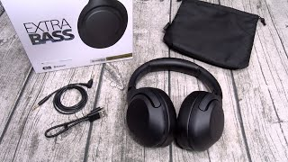 Sony WH-XB900N Extra Bass Wireless Noise Canceling Headphones