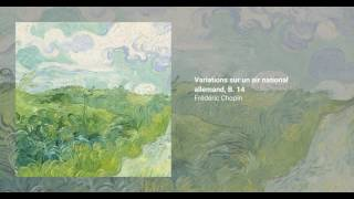 Variations sur un air national allemand, B. 14
