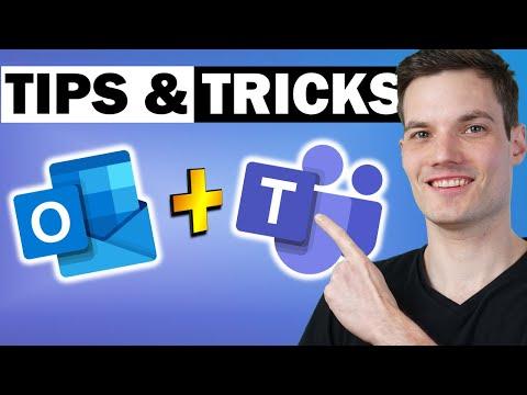 🧙♂️ Top 8 Microsoft Teams + Outlook Tips & Tricks