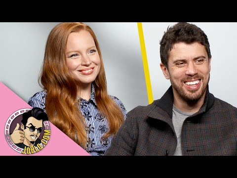 Lauren Ambrose & Toby Kebbell Interview for Servant