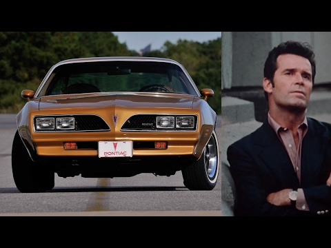 Greatest TV Cars Part 1: The Rockford Files Firebird Esprit