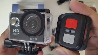 4K Ultra HD Waterproof Action Camera - WiFi - HDMI - Remote Control by NEXGADGET