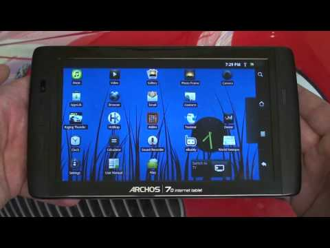 Archos 70 250GB Android Tablet Review by The Digital Digest