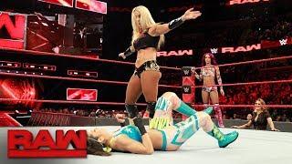 Sasha Banks & Bayley vs. Mandy Rose & Sonya Deville: Raw, Jan. 8, 2018 - Video Youtube