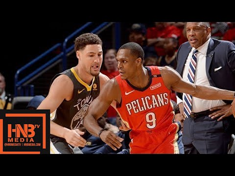 Golden State Warriors vs New Orleans Pelicans Full Game Highlights / Game 4 / 2018 NBA Playoffs