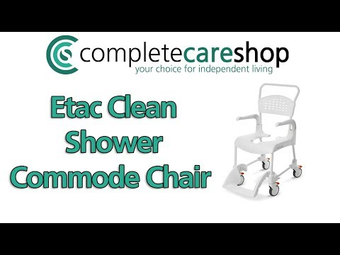 Information On The Etac Clean Shower Commode Chair