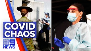 Coronavirus: Defence Force deployed as Victorian cases surge | 9 News Australia