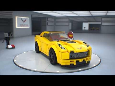 Vidéo LEGO Speed Champions 75870 : Chevrolet Corvette Z06