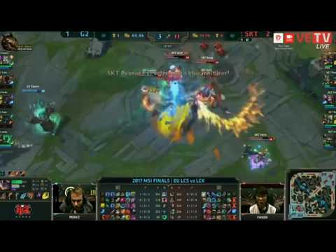 Finals game legendary alliance 2017  - MSI FINALS EU LCS vs LCK P2