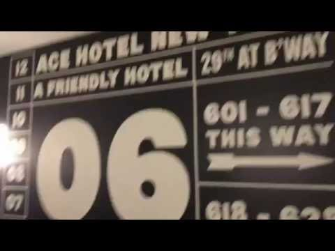 Hotel Review #004 – Ace Hotel New York – W 29th St and Broadway