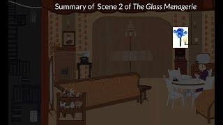 The Glass Menagerie - Scene 2 Summary