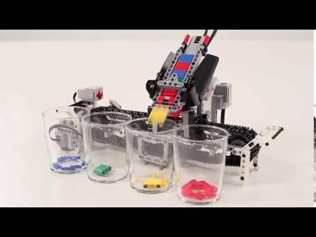 LEGO Education EV3 | Сортировщик деталей по цвету